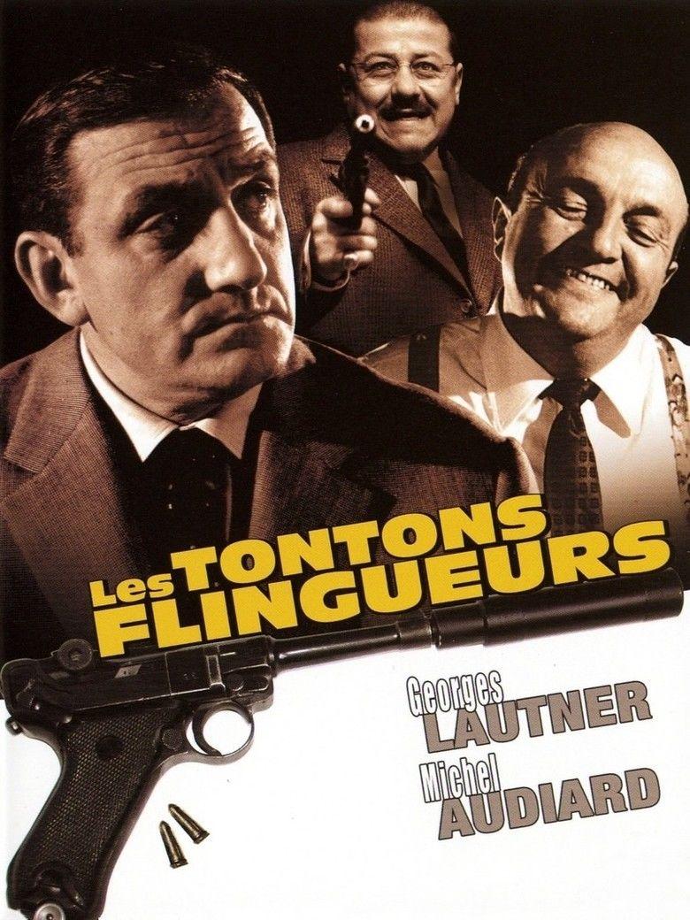 Les Tontons flingueurs movie poster
