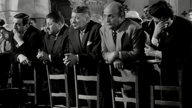 Les Tontons flingueurs movie scenes