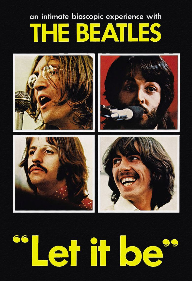 Let It Be (1970 film) movie poster