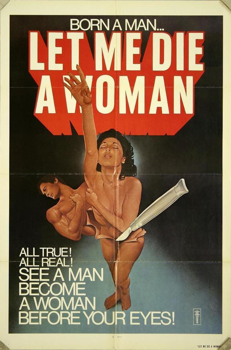 Let Me Die a Woman movie poster