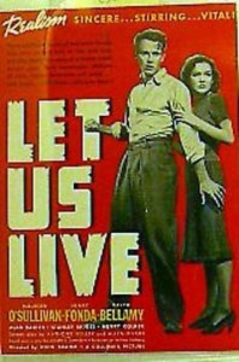 Let Us Live movie poster