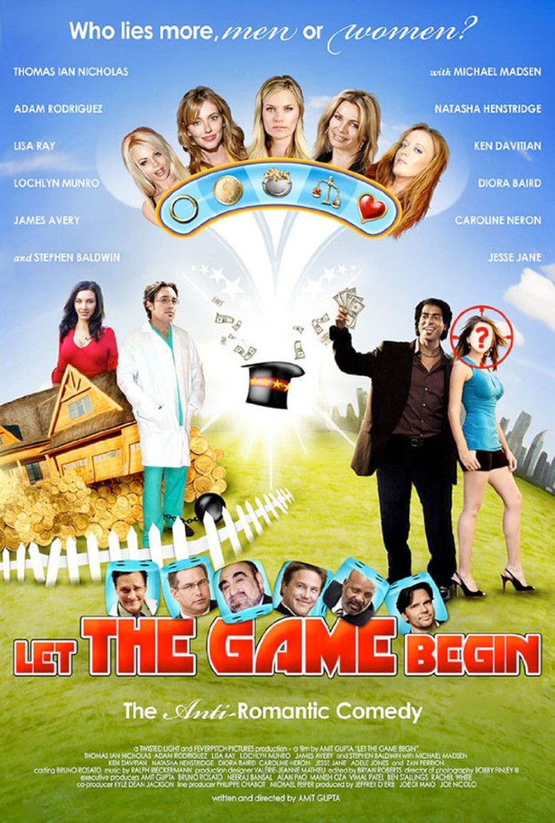 Let the Game Begin movie poster