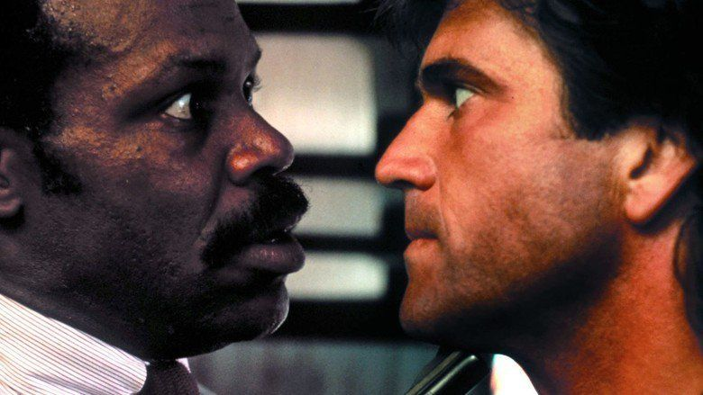 Lethal Weapon movie scenes