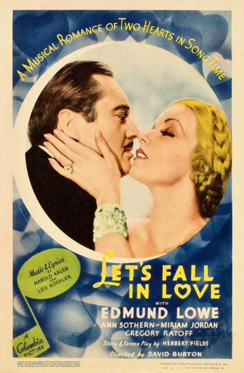 Lets Fall in Love (film) movie poster