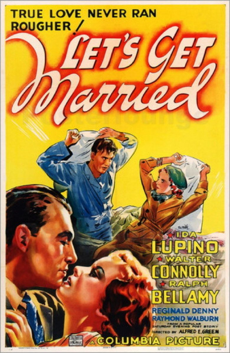 Lets Get Married (1937 film) movie poster