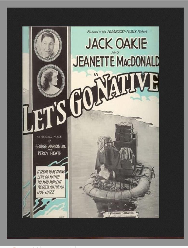 Lets Go Native movie poster