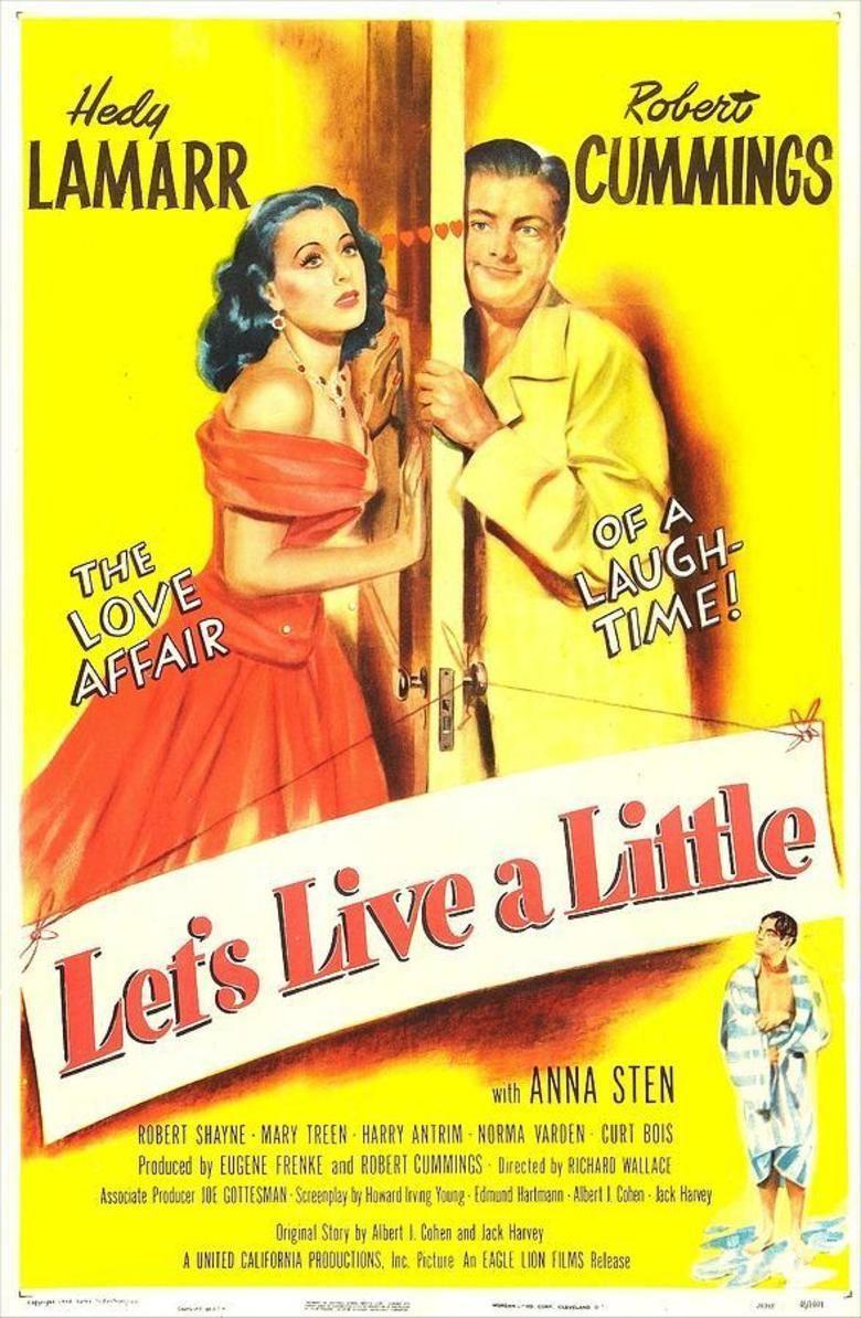 Lets Live a Little movie poster