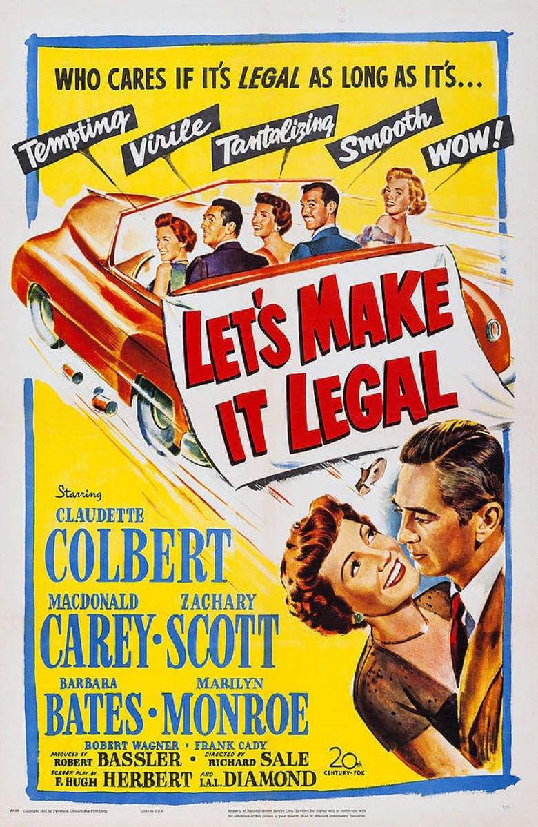 Lets Make It Legal movie poster
