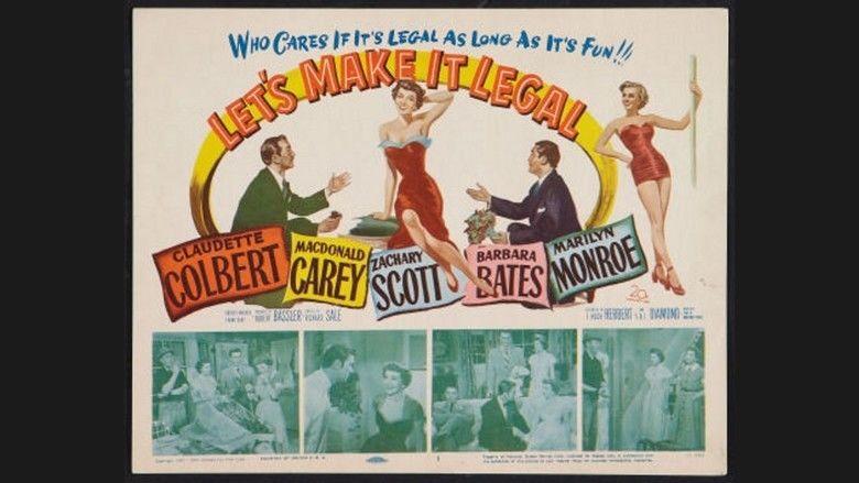 Lets Make It Legal movie scenes