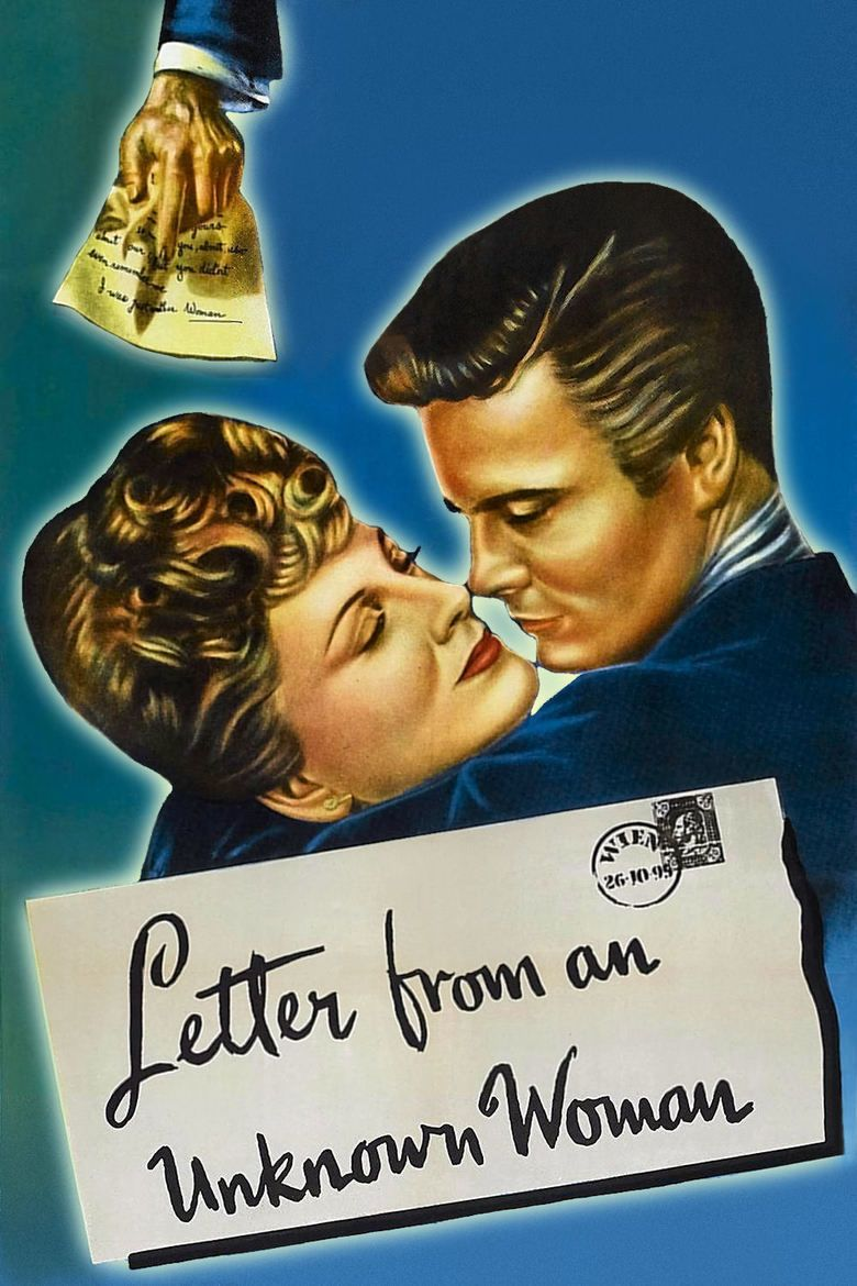 Letter from an Unknown Woman (1948 film) movie poster
