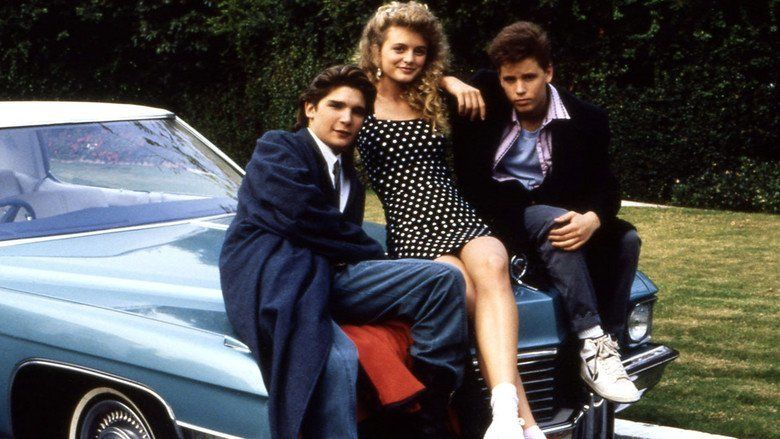 License to Drive movie scenes