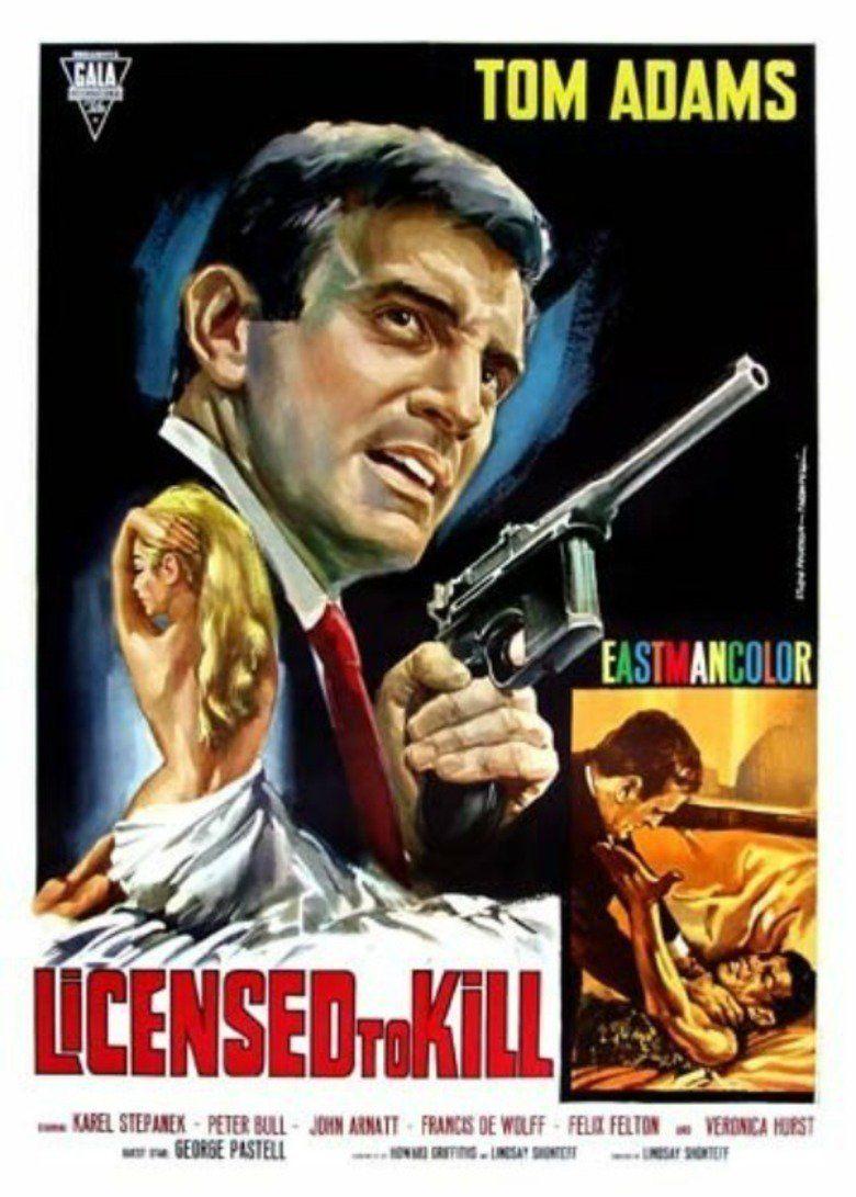 Licensed to Kill (1965 film) movie poster