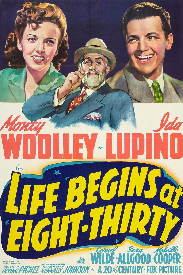 Life Begins at Eight Thirty movie poster