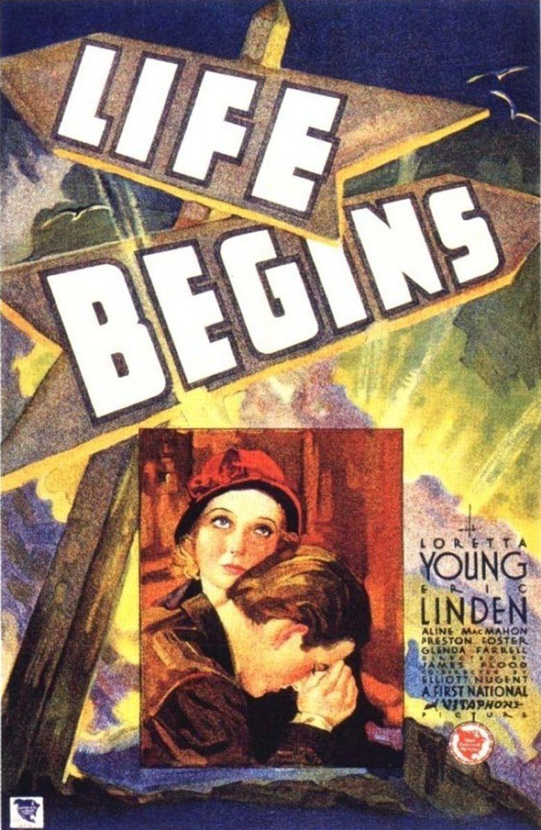 Life Begins (film) movie poster