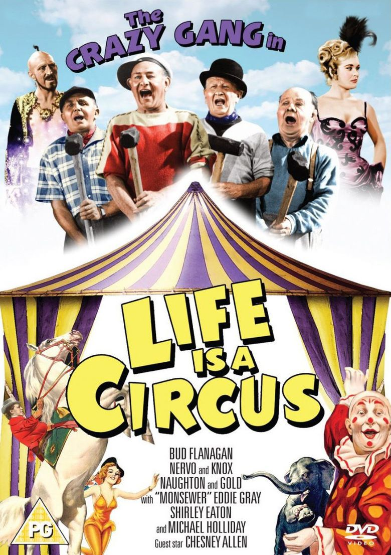 Life Is a Circus (1960 film) movie poster