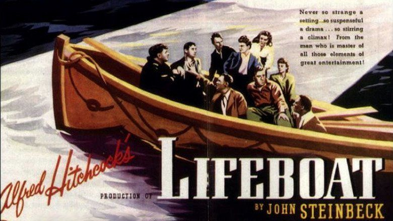 Lifeboat (film) movie scenes