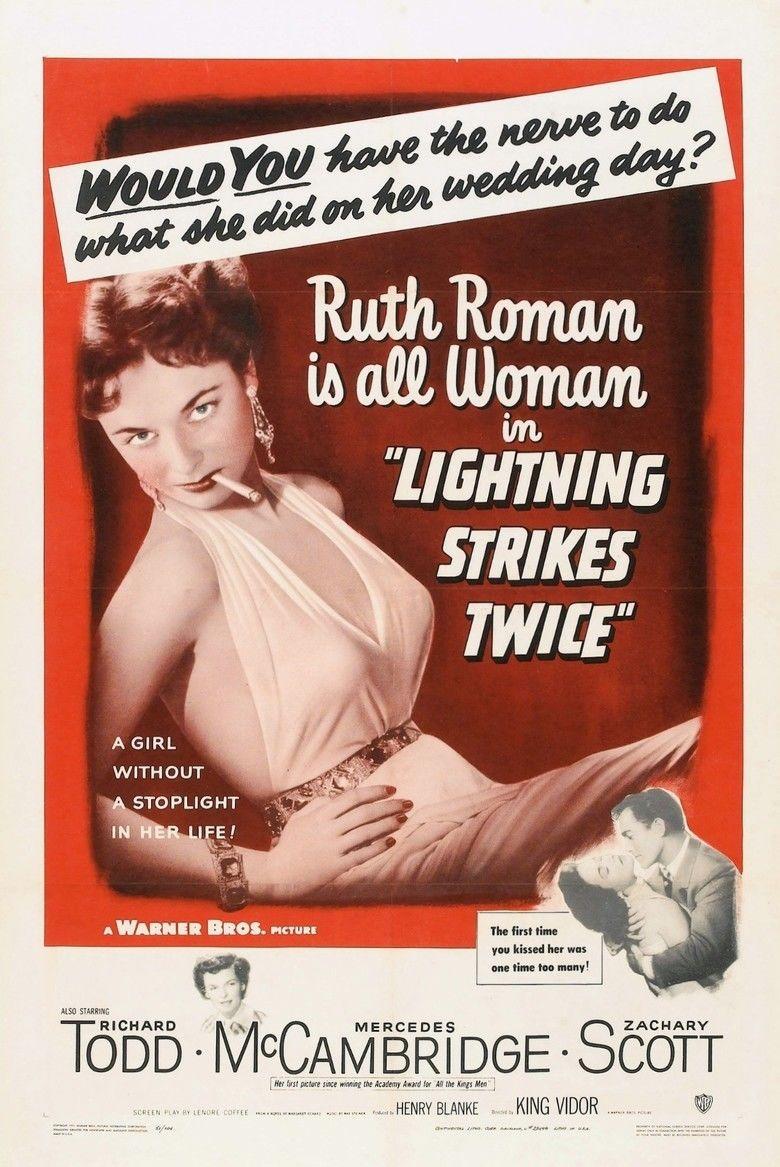 Lightning Strikes Twice (1951 film) movie poster