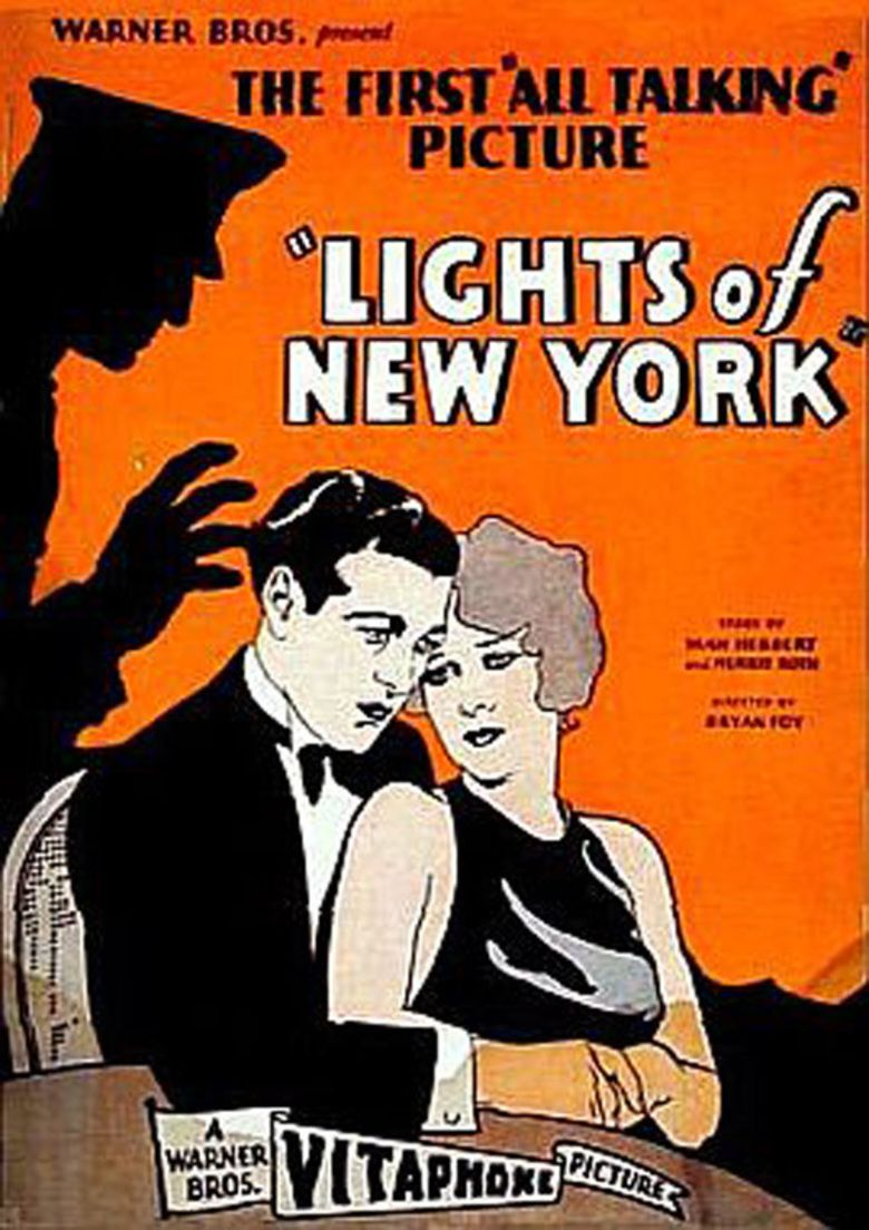 Lights of New York (1928 film) movie poster