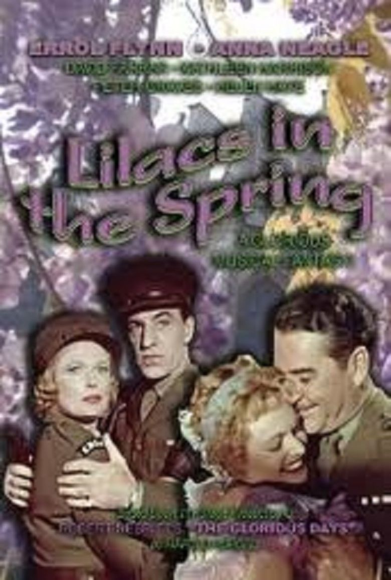 Lilacs in the Spring movie poster
