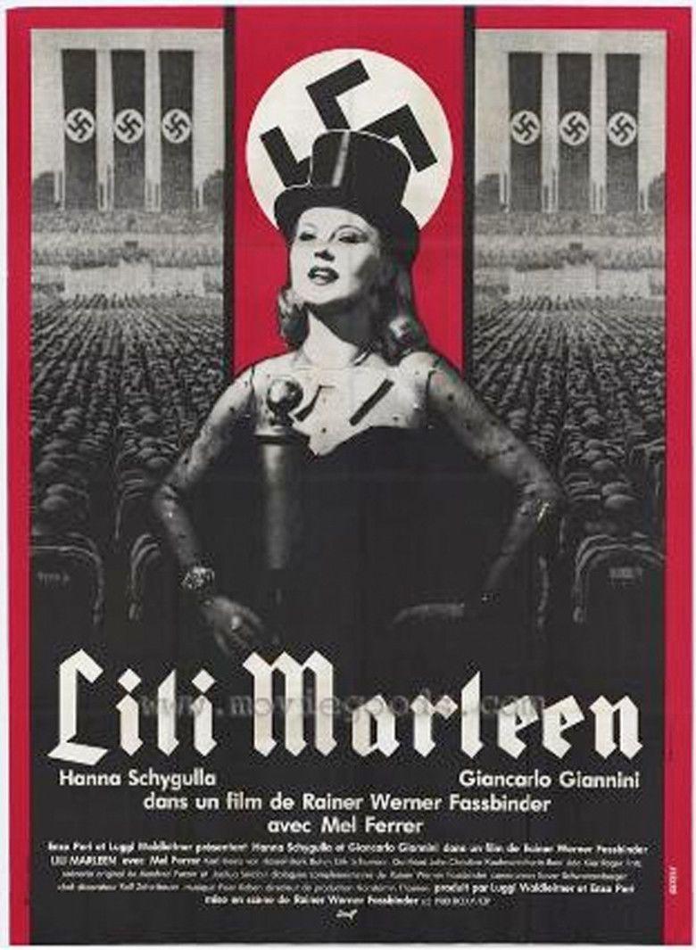 Lili Marleen (film) movie poster
