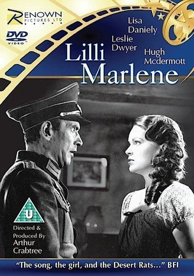 Lilli Marlene (film) movie poster