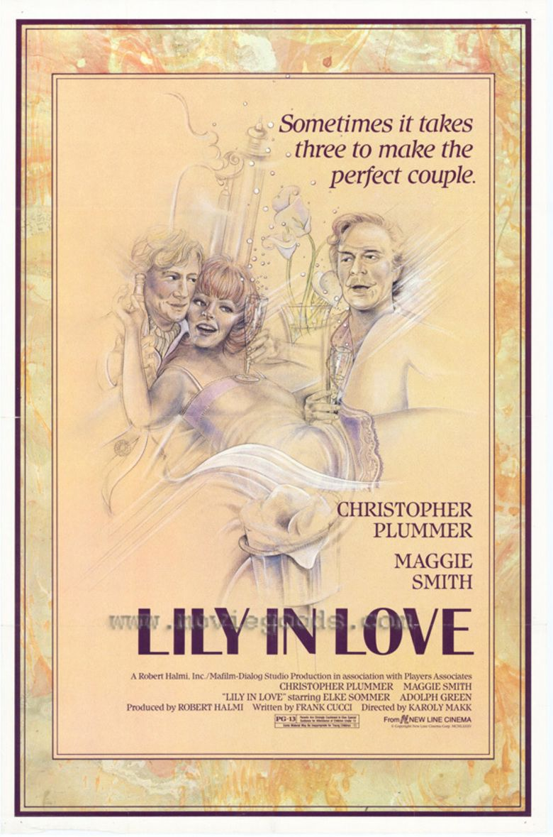 Lily in Love movie poster