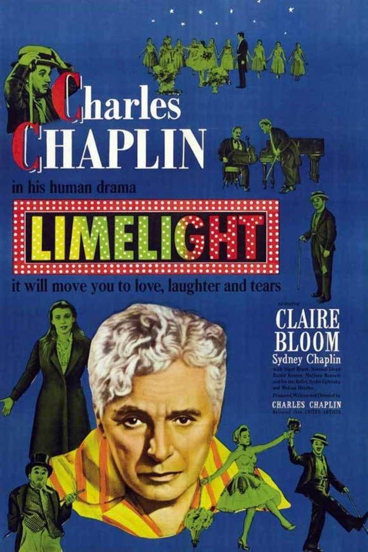 Limelight (1952 film) movie poster