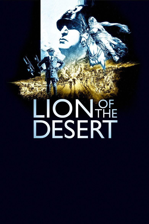 Lion of the Desert movie poster