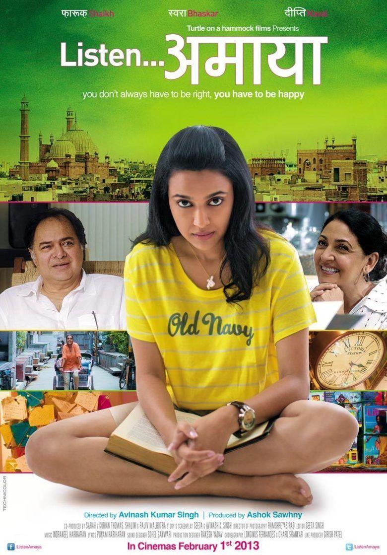 Listen Amaya movie poster