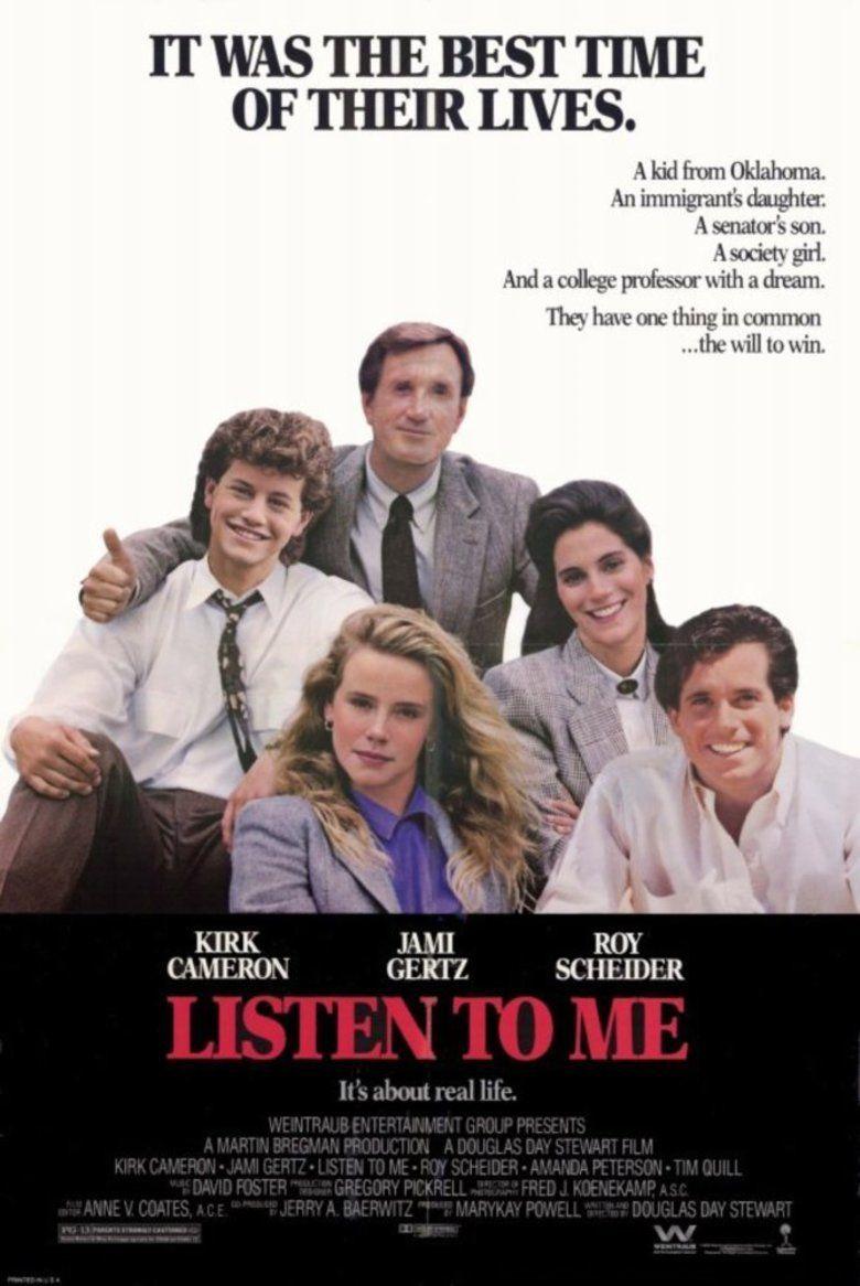 Listen to Me (film) movie poster