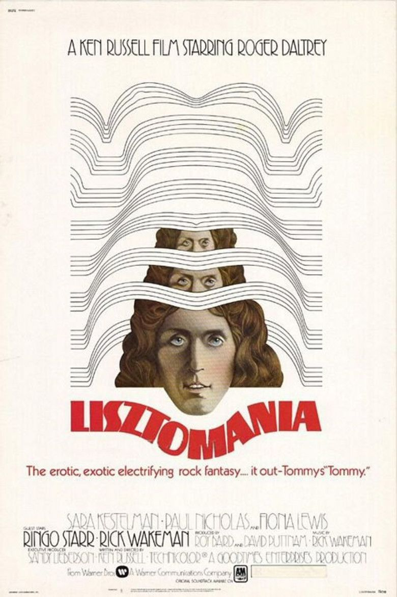 Lisztomania (film) movie poster