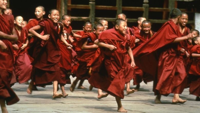 Little Buddha movie scenes