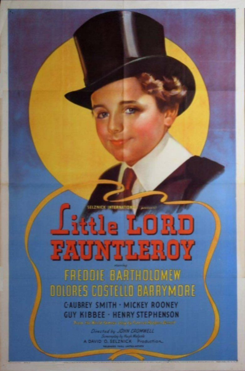 Little Lord Fauntleroy (1936 film) movie poster