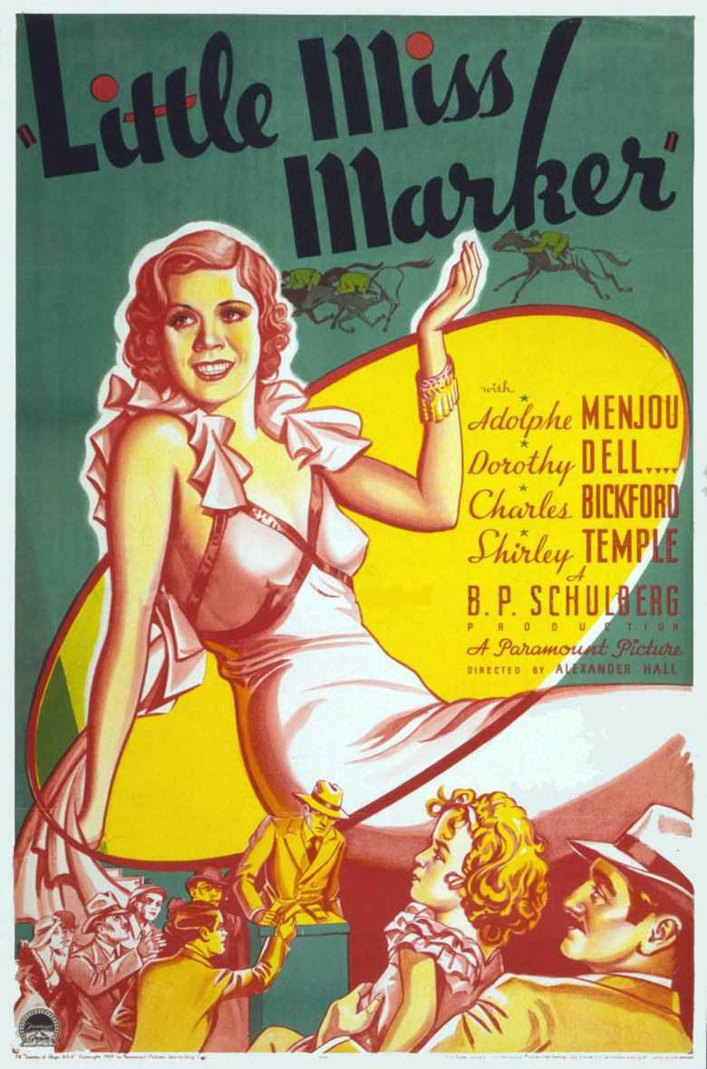 Little Miss Marker movie poster