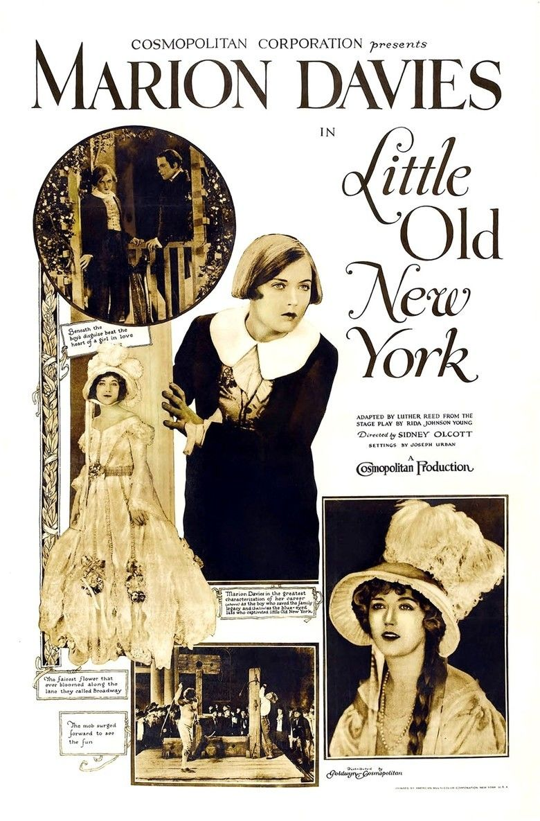 Little Old New York (1923 film) movie poster
