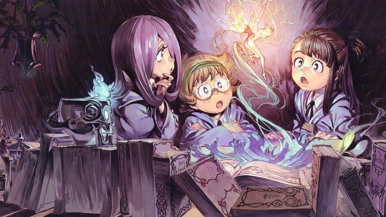 Little Witch Academia movie scenes