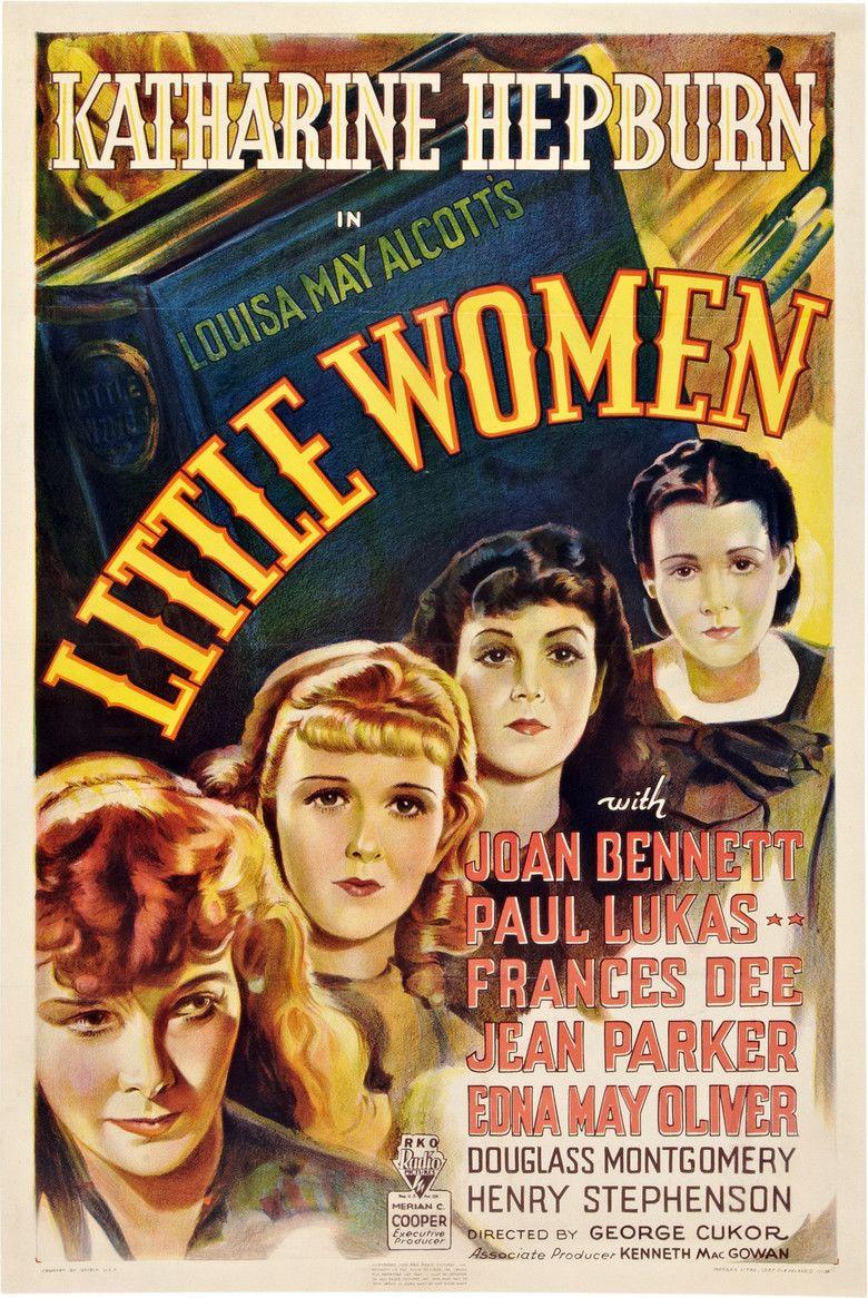 Little Women (1933 film) movie poster