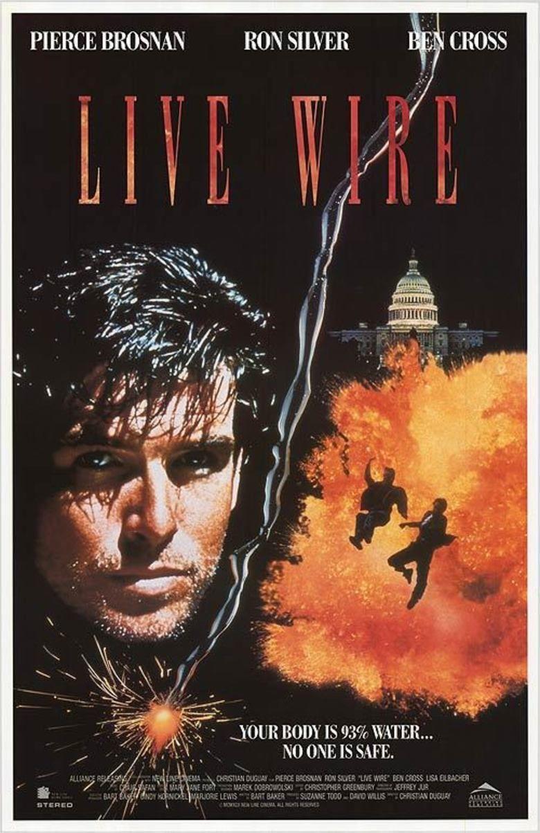 Live Wire (film) movie poster