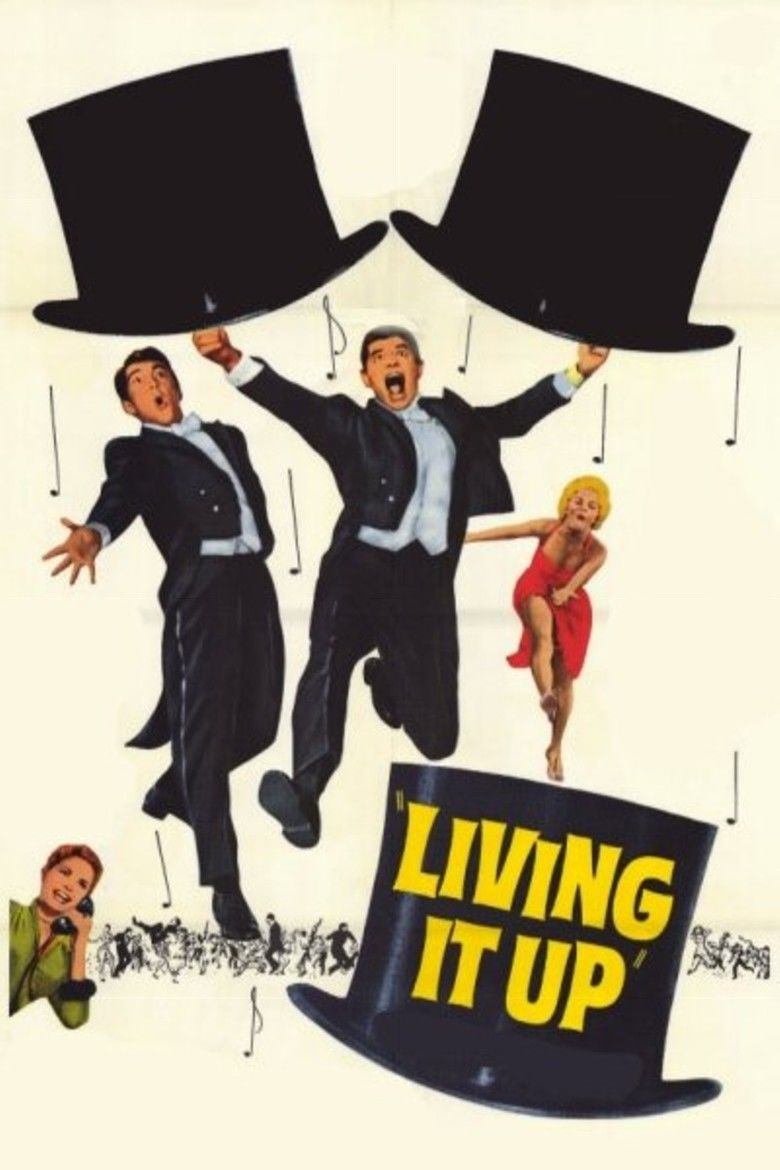 Living It Up movie poster