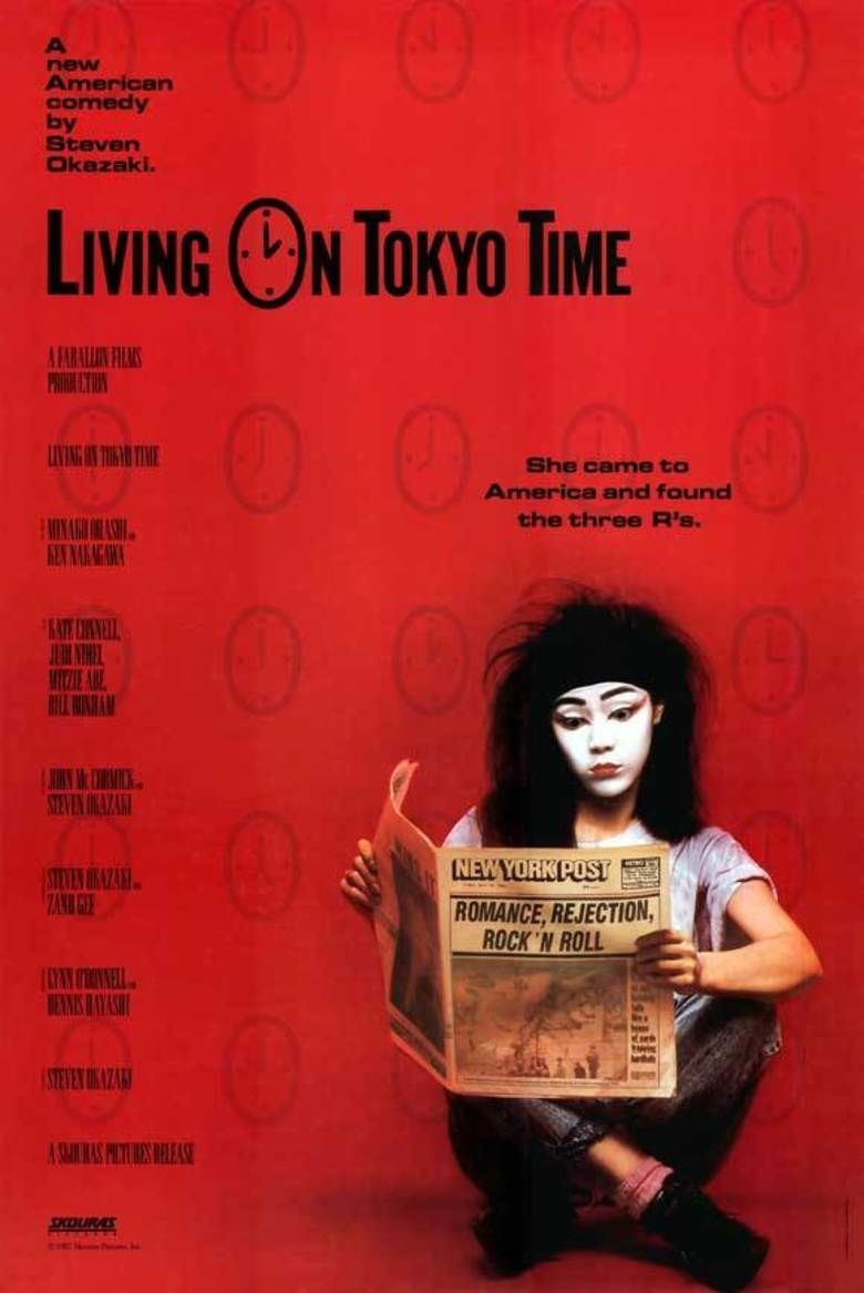 Living on Tokyo Time movie poster