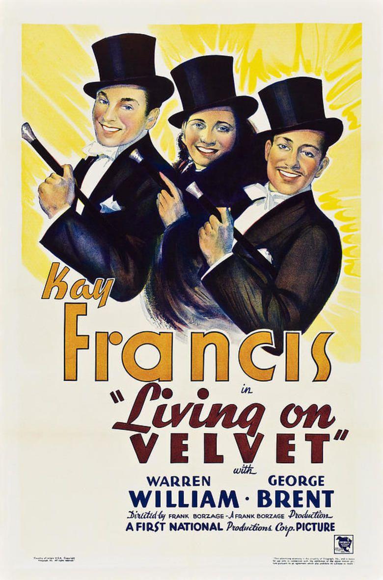 Living on Velvet movie poster