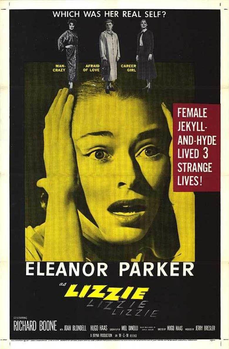Lizzie (film) movie poster