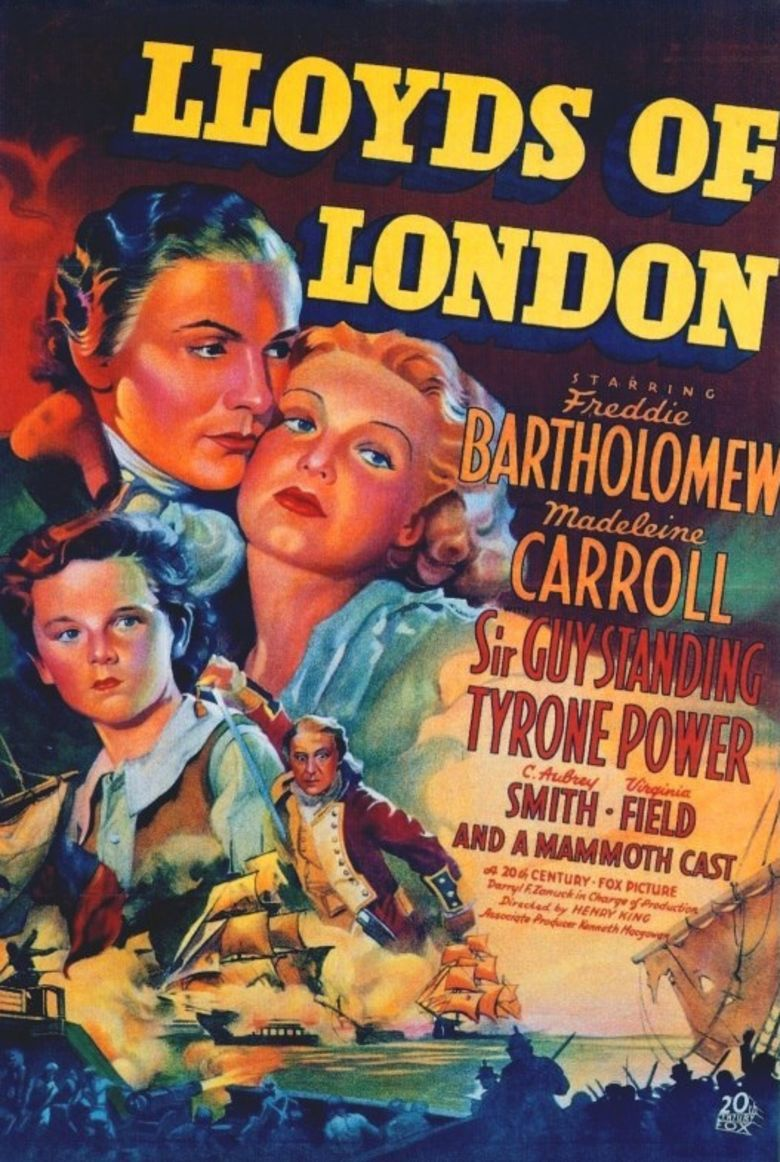 Lloyds of London (film) movie poster