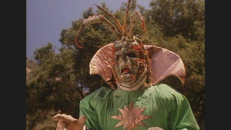 Lobster Man from Mars movie scenes