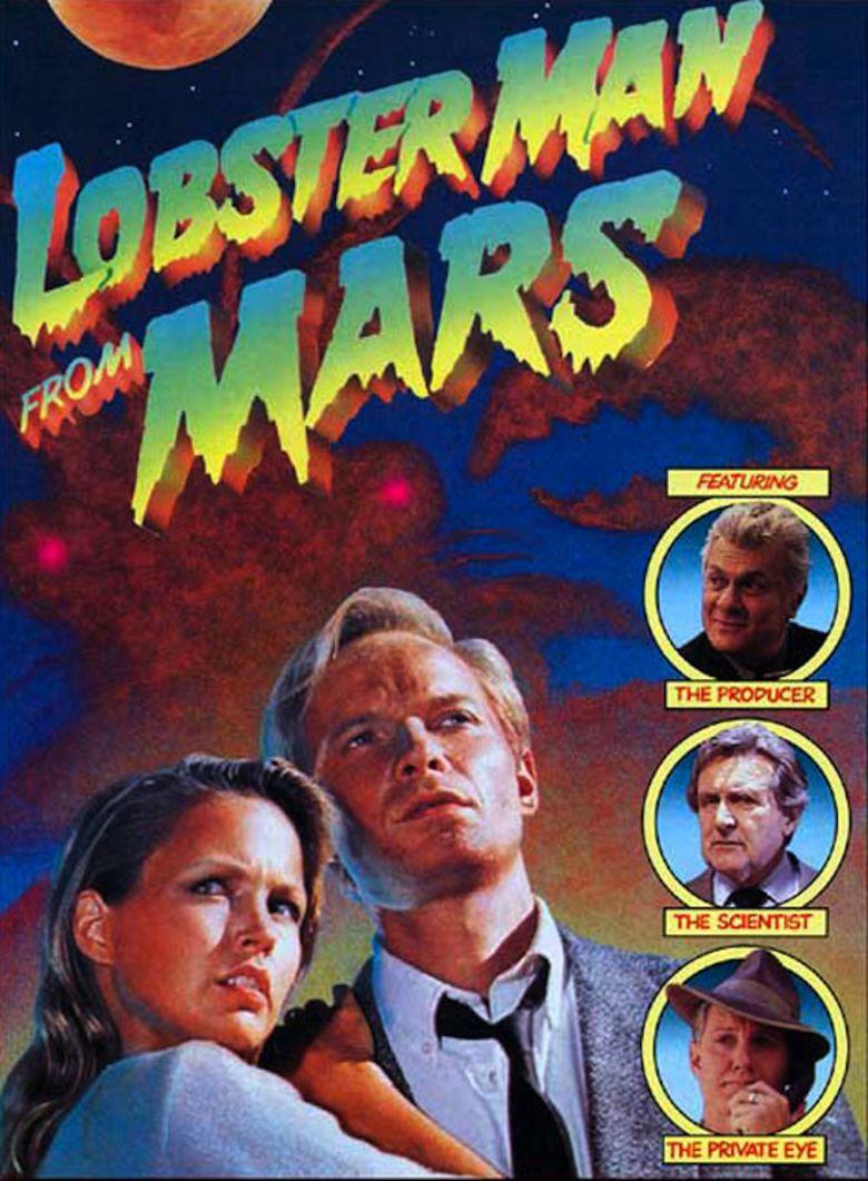 Lobster Man from Mars movie poster