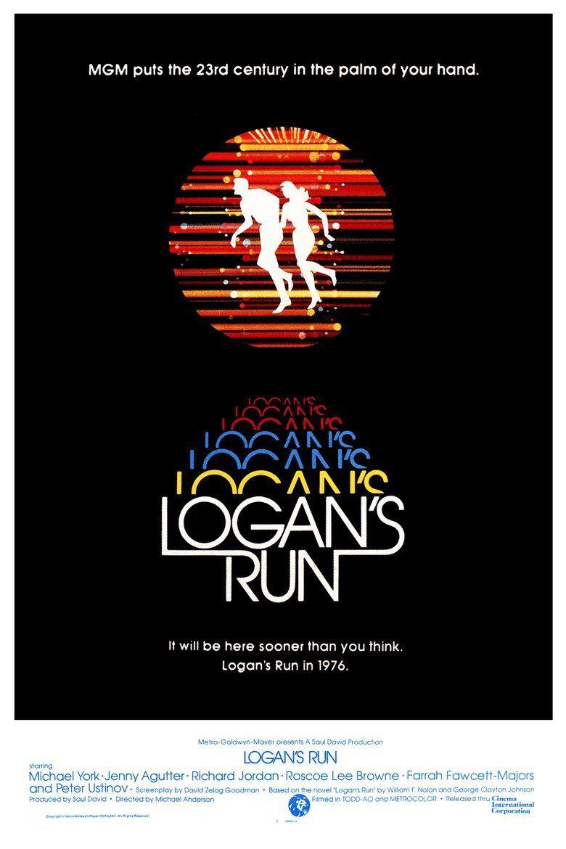 Logans Run (film) movie poster