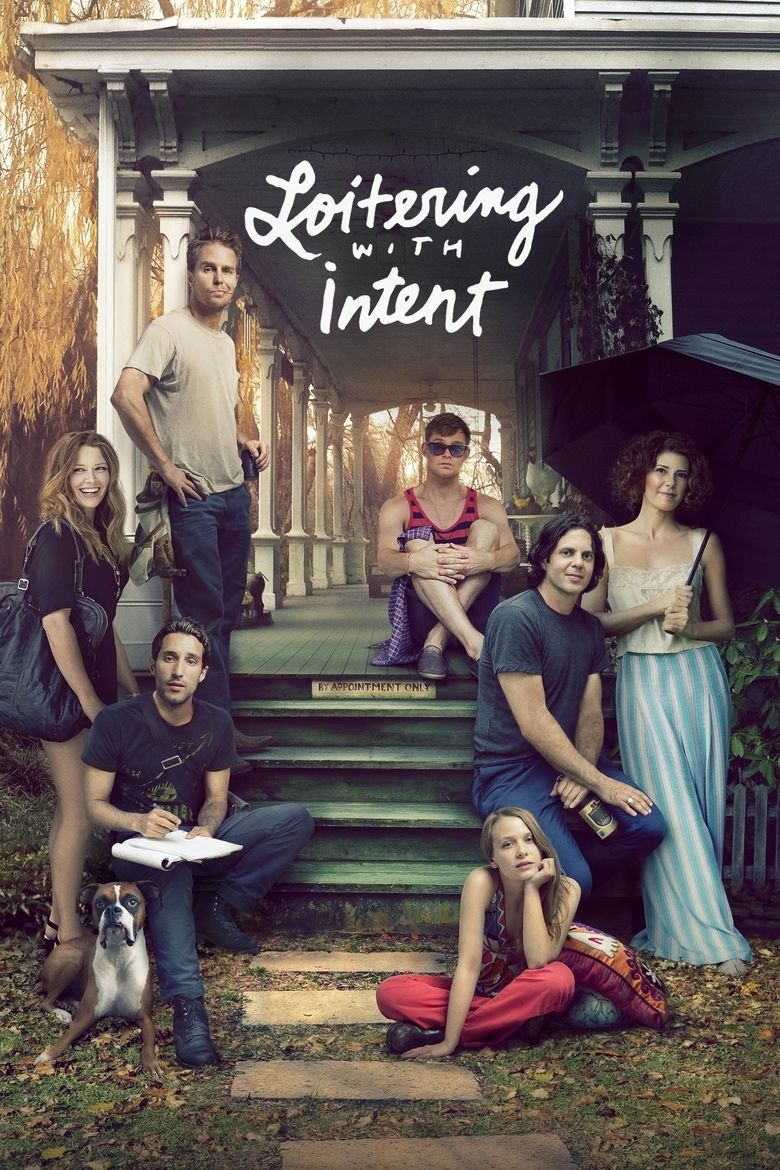 Loitering with Intent (film) movie poster