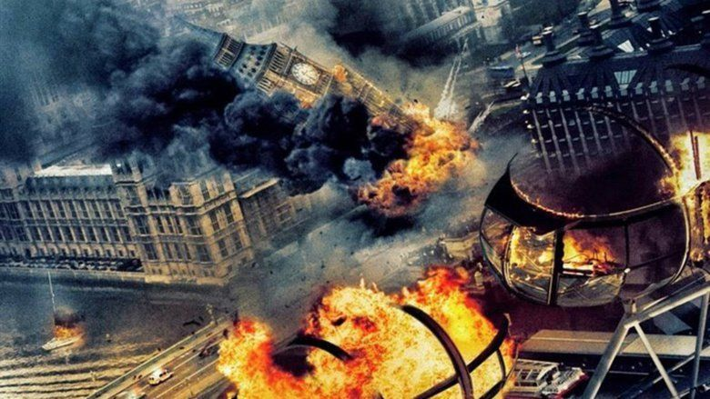 London Has Fallen movie scenes