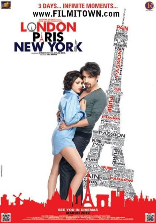 London, Paris, New York movie poster