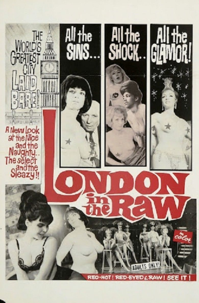 London in the Raw movie poster